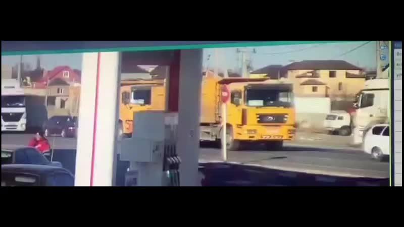 ДТП Автокран и машина ФСИН