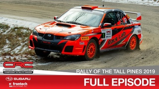 CRC TV: Lincoln Electric Tall Pines Rally 2019 - In English