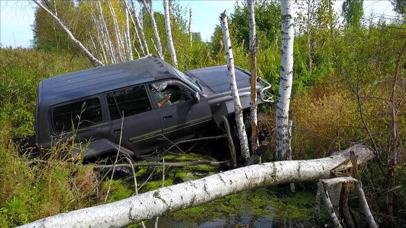Набираемся опыта, тест на проходимость по болотам, утопили вертолёт.