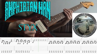 [Screen Tabs] Amphibian Man - Styx    Hellas (2015)    Instrumental Surf Rock    Fender Jazzmaster
