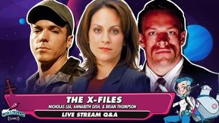 'The X-Files' (Nicholas Lea, Annabeth Gish, & Brian Thompson) GalaxyCon Q&A Panel
