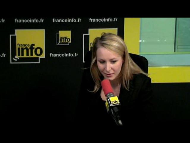 Marion Maréchal-Le Pen dénonce le florilège de crapules UMP dans lEssonne