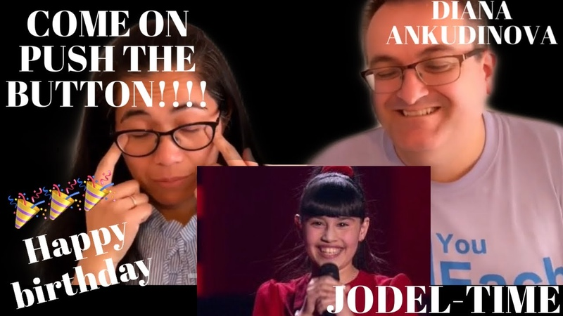 🇩🇰DANISH REACTS TO DIANA ANKUDINOVA- Jodel-time YODELING! (Voice Russia) COME ON PUSH THE BUTTON