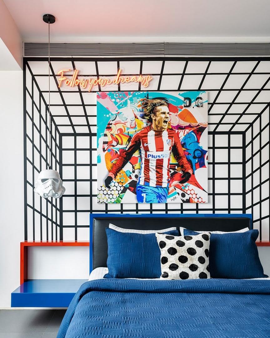 Джаннат Васи: квартира в Мумбае в стилистике поп-арта    03