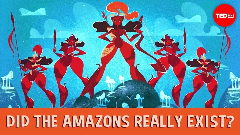 Did the Amazons really exist? - Adrienne Mayor vk.com/topnotchenglish
