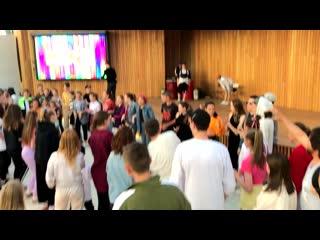 Soul train party at MEGA DANCE 2019