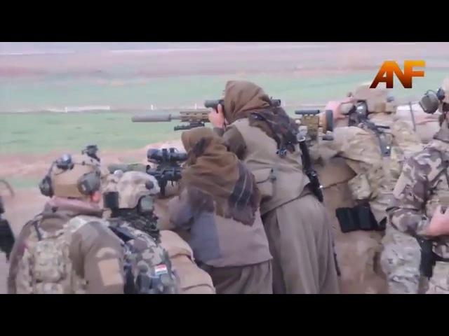 Iraq January 2016 Fighting the Kurdish Peshmerga in Kirkuk