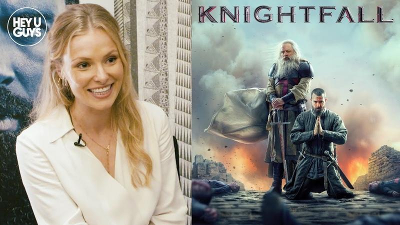 Clementine Nicholson on joining Knightfall for Season 2