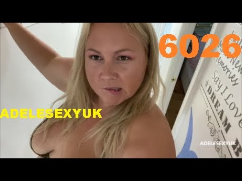 STAY HOME WITH BBW ADELESEXYUK CLEANING HER HALLWAY