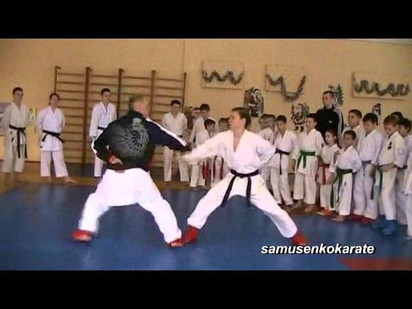 Seminar karate 2016 kumite 1 January