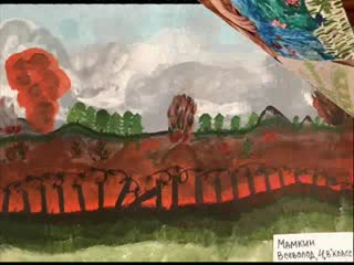 """Виртуальная выставка рисунков """"Рисуют мальчики войну..."""" часть вторая"""