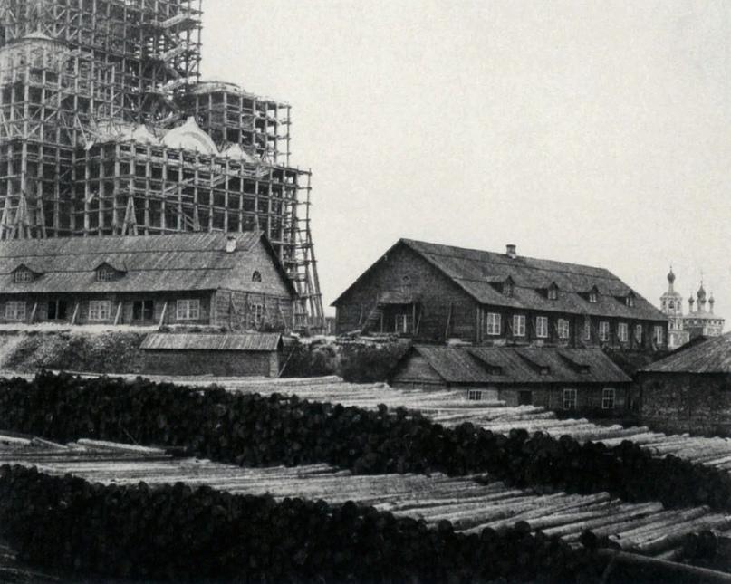 Строительство храма Христа Спасителя. 1852 год