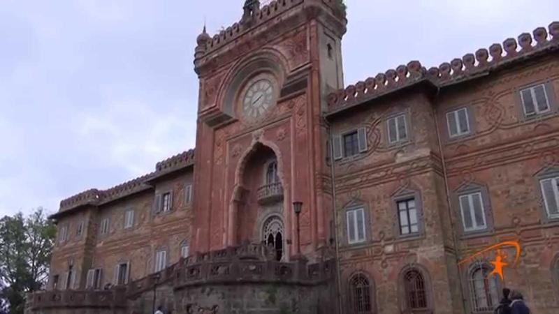 Il Castello di Sammezzano Замок Саммеццано