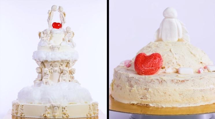 Свадебный торт из шоу Кондитер