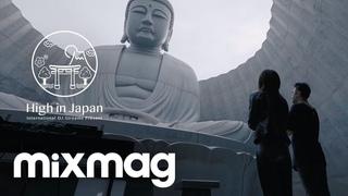 Drunken Kong DJ set on the Hill of the Buddha, Japan