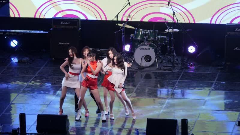 190515 Hongik Seoul Campus Fest  Red Velvet - Red Flavor [Fancam]