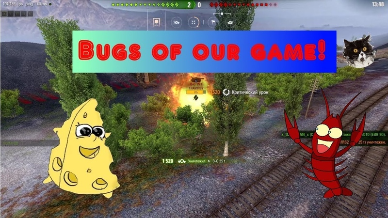 Bugs of our game Bog 1 World of Tanks Funny Moments