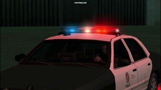 [REL] Ford Crown Victoria Police Interceptor LAPD (LowPoly - AVS) (Classic server siren pattern) V2