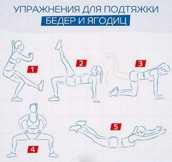 Комплекс Упражнений Для Похудения Бедер И Пресса.