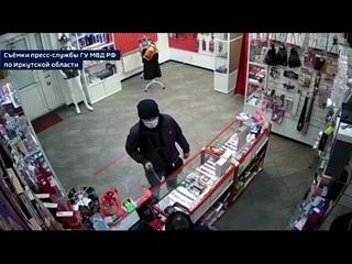 Подозреваемого в нападении на секс-шоп разыскивают...