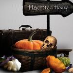 Разделители для текста и веселый клипарт на Хэллоуин