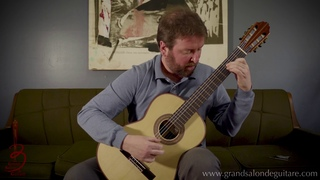 Jérôme Ducharme plays Preludio Americanos by Abel Carlevaro on Roberto Rozado Classical Guitar