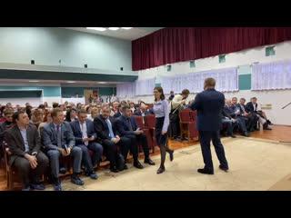 Встреча главы Сургута Вадима Шувалова с жителями 27 и 28 микрорайонов