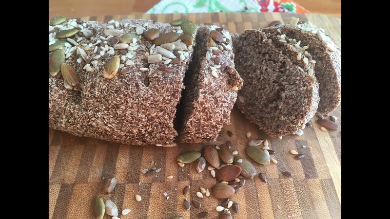 Необычный хлеб без пшеничной муки и дрожжей на аквафабе