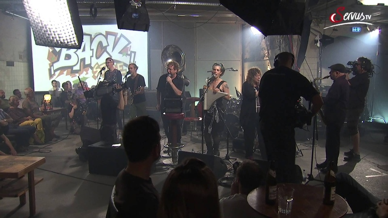 So Glad Hazmat Modine bei Pixner's BACKstage Servus TV 2015