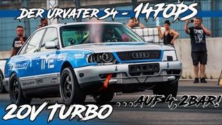 1470PS Audi Ur-S4 20V Turbo Quattro auf 4,2bar I BS Carperformance I RD48