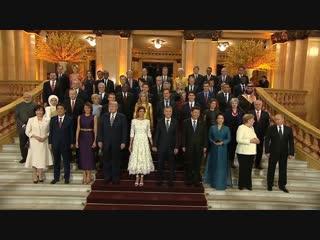 Торжественный концерт для участников саммита G20 в Аргентине.