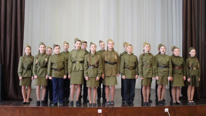 Конкурс патриотической песни_6А класс