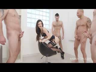Lina Arian (Lina is Back with Balls Deep Anal, DAP, Gapes, DP, TP, Swallow and Creampie GIO1709) [2021, DAP, TP, 1080p]