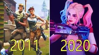 Evolution of Fortnite 2011-2020