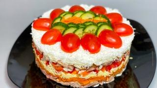 ВЗРЫВНОЕ сочетание продуктов!!! Обалденный САЛАТ на любой праздничный стол!