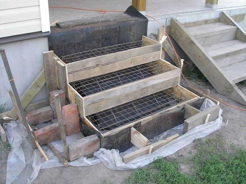 Советы по изготовлению бетонной лестницы, изображение №8
