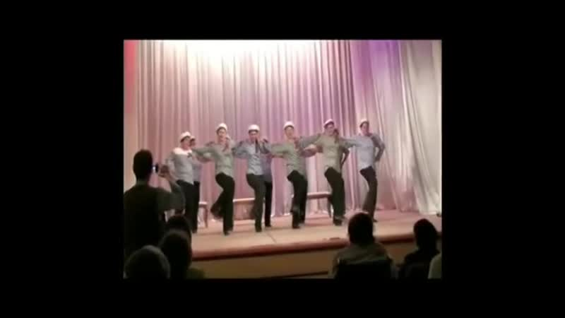 Коллектив Ахиллес ГО Ивантеевка танец Яблочко