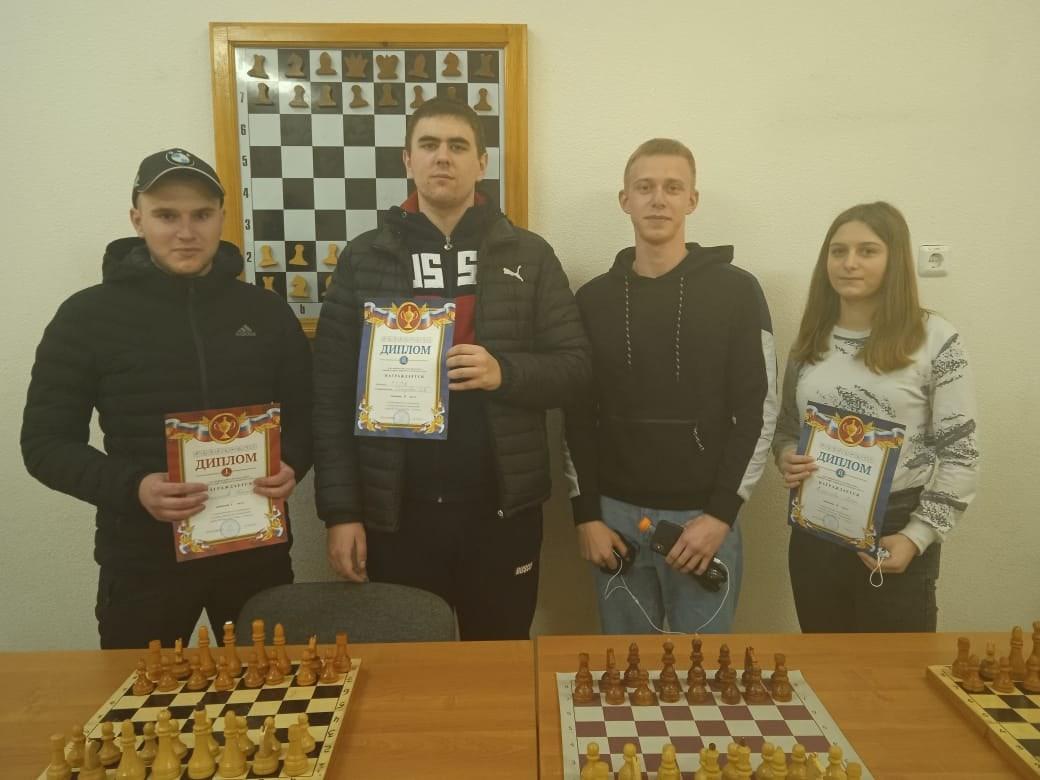 2 место в соревнованиях по шахматам. 11.04.21