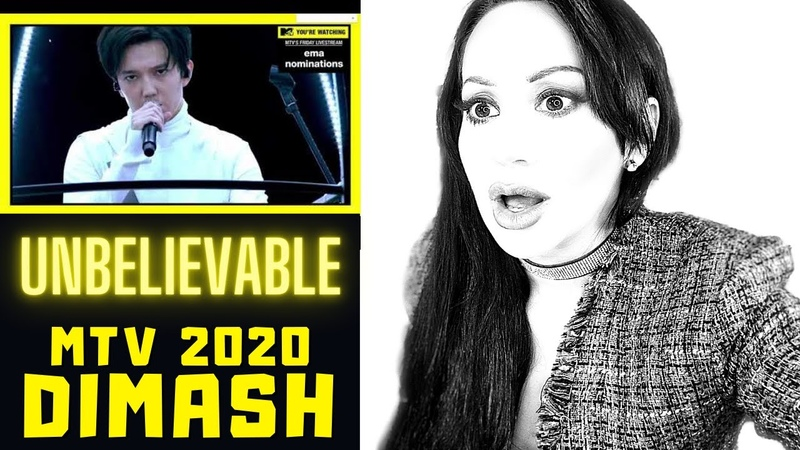Vocal Coach REACTS Dimash Kudaibergen on MTV 2020 S O S Lucia Sinatra