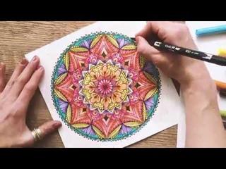 Mandalas selber zeichnen – intuitiv und kreativ