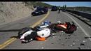 Мото ДТП - Подборка Жестких Аварий Мотоциклистов 2020