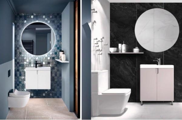 Мебель Белюкс для ванны современный стиль Москва