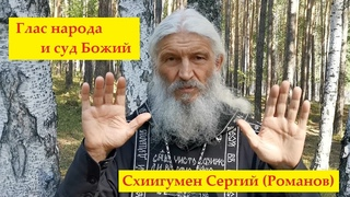 Схиигумен Сергий Романов - Глас народа и суд Божий
