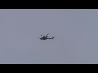 Ми-28Н в Приморско-Ахтарске