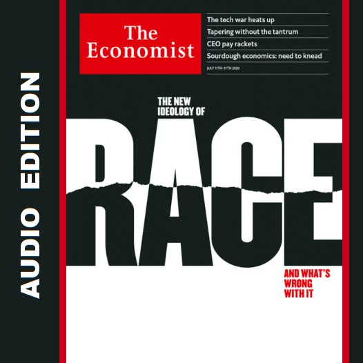 Book cover The Economist Asia Edition.July11, 2020