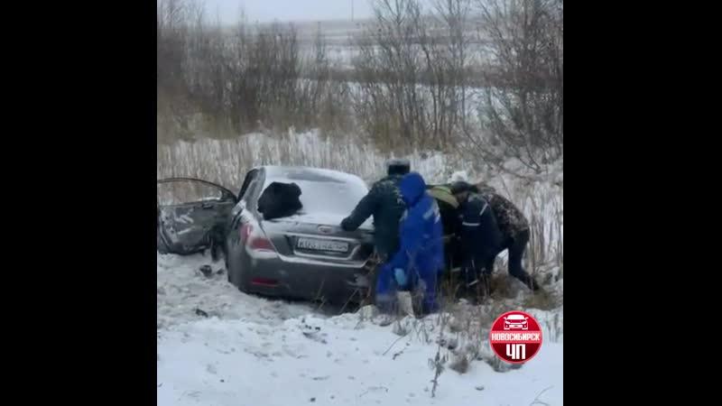 Страшная авария у поста ГАИ в Татарске. Подробности выясняются Новосибирск