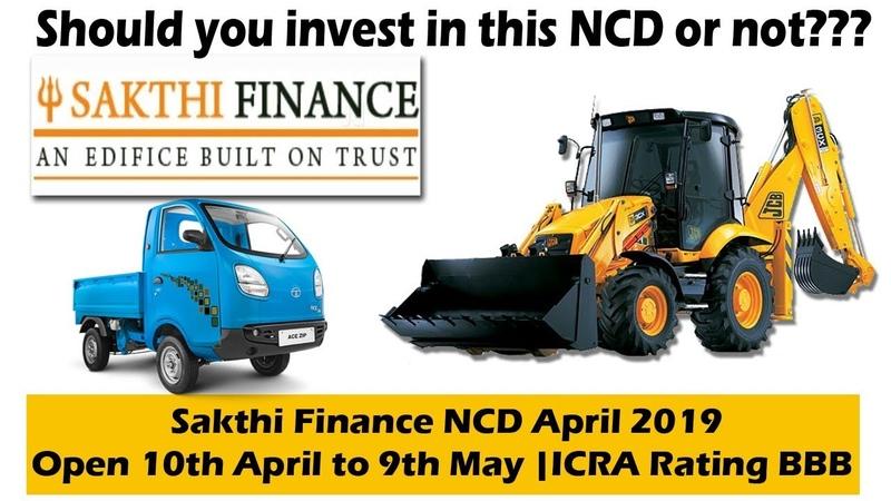 Sakthi Finance NCD April 2019 Public Issue Price Date Allotment Reviews Status