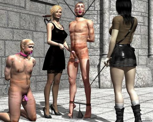 Slave castration femdom days