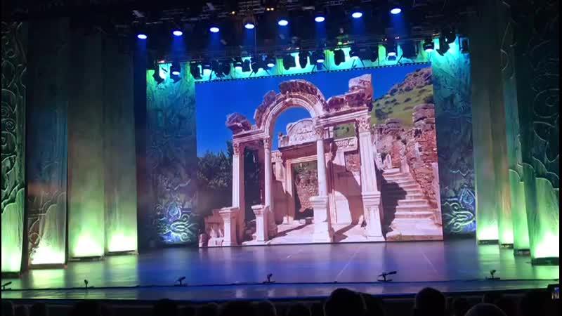 На сцене Г. Камала