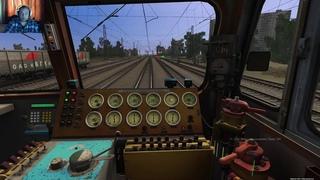 """Trainz Railroad Simulator 2019: сценарий """"Грузовой до Одессы""""."""